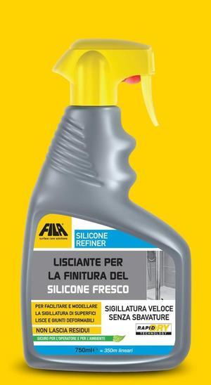 Spray FILA SILICONE REFINER lisciante per la finitura del silicone fresco