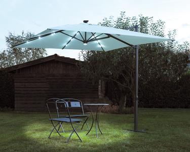 RICAMBIO PANNELLO SOLARE Ombrellone da giardino BELEN con luci led 3x3 rettrattile E5023
