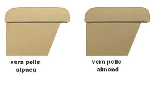 Mittelarmlehne für LR Freelander 2 (2007-2012) in der Länge verstellbaren leder alpaca - almond