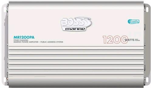 Amplificatore Boss Marine MR1200 PA - Offerta di Mondo Nautica  24