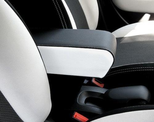 Bracciolo PREMIUM mod. XXL con portaoggetti per Fiat 500L (2012-05/2017) e 500L Trekking BICOLORE