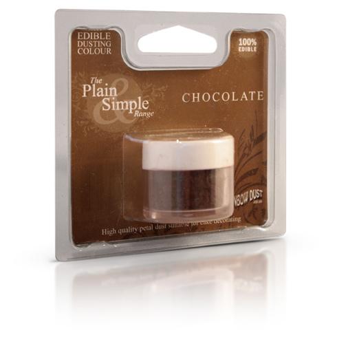 colorante in polvere rainbow dust marrone cioccolato