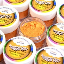 colorante in polvere rainbow dust arancione zucca