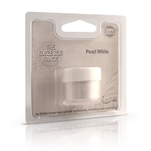 colorante in polvere rainbow dust perlato bianco
