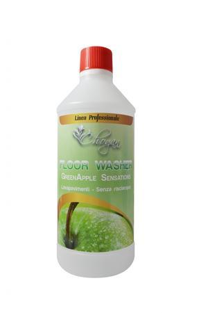 GREEN APPLE SENSATIONS Detergente lava pavimenti senza risciacquo