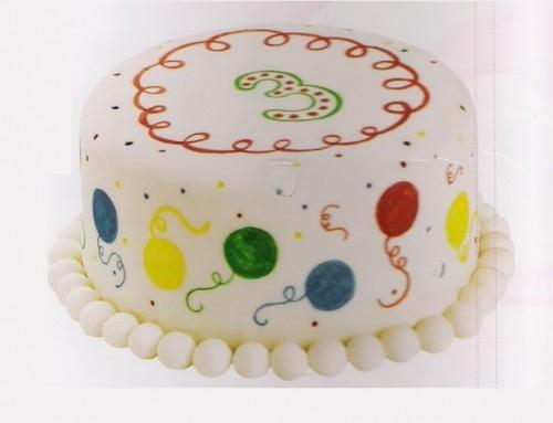 conf. 6 pennarelli alimentari colori assortiti Decora