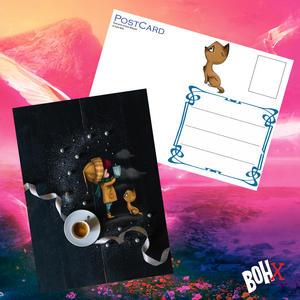 Cartolina in produzione esclusiva per Bohx