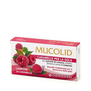 Farmaderbe - Caramelle Lumaca&Lampone Mucolid