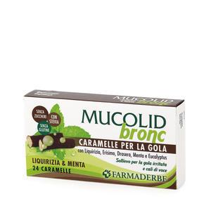Farmaderbe - Caramelle Menta&Liquirizia  Mucolid
