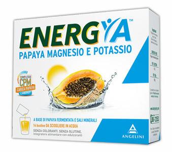 ENERGIA PAPAYA MAGNESIO E POTASSIO