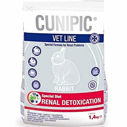 Cunipic VET LINE Renal Detoxication Coniglio - 1,4 Kg.