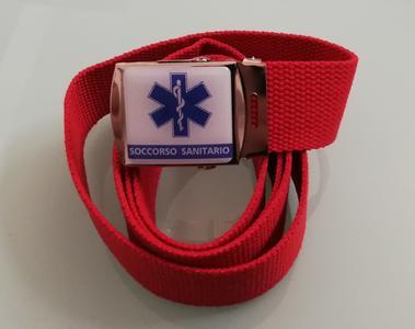 Cintura 118 - 112 soccorso sanitario rossa