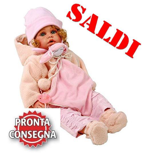 """Bambola per Bambine """"LAURA"""" di Legler Saldi"""
