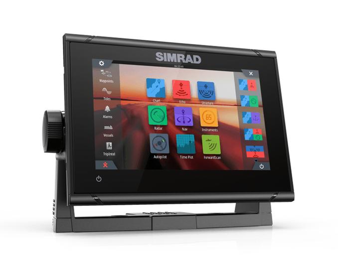 Simrad Go7 XSR con trasduttore Total Scan - Offerta di Mondo Nautica 24
