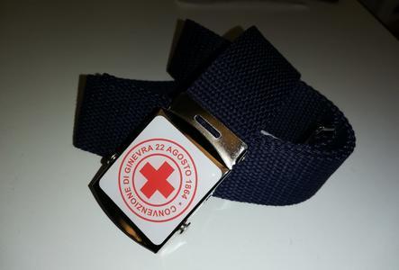 Cintura CRI croce rossa italiana colore blu