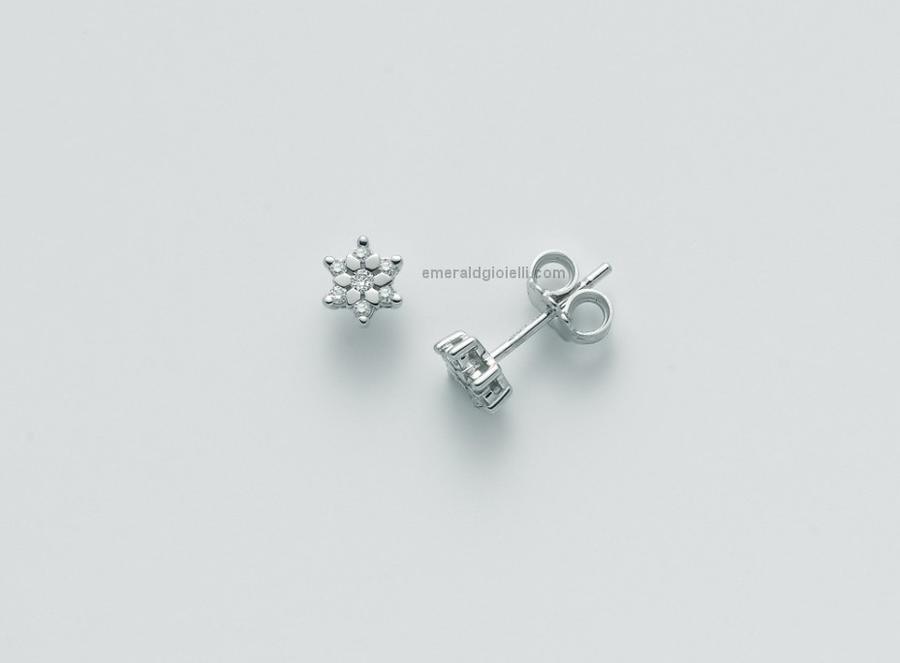 ERD2412 Orecchini con Diamanti Miluna -