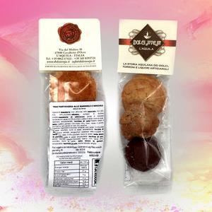 Tris di dolcetti alle mandorle e nocciole