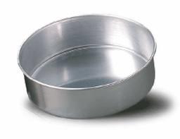 tortiera conica alta cm 8 alluminio cm 34