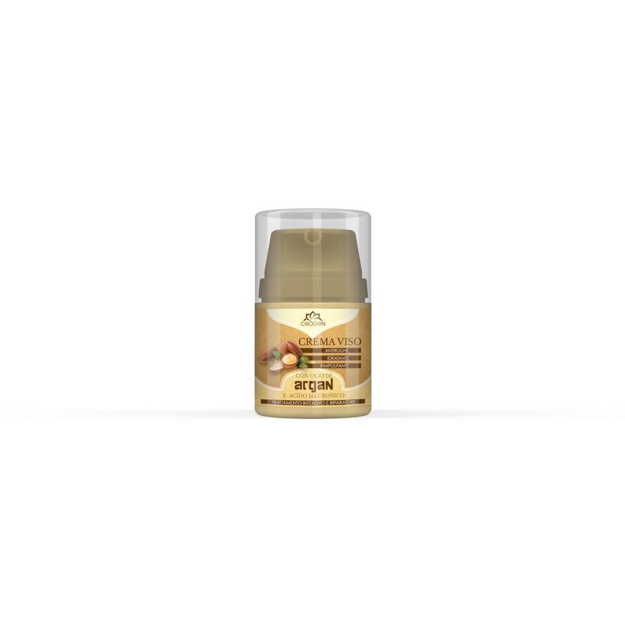 Crema Viso Bio con Olio di Argan e acido ialuronico 50 ml