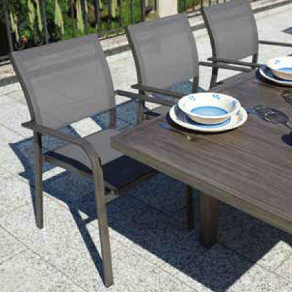 Tavoli Da Giardino Allungabili In Legno.Tavolo Da Giardino Verbier Allungabile 150 210 X 90 Cm Dining Set In
