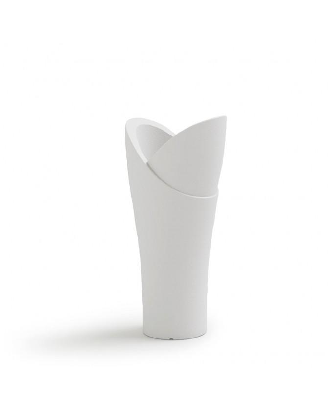 Portavaso alto a colonna in polietilene LYXO ASSIA CACHE-POT ALTEZZA 140 cm 20 lt