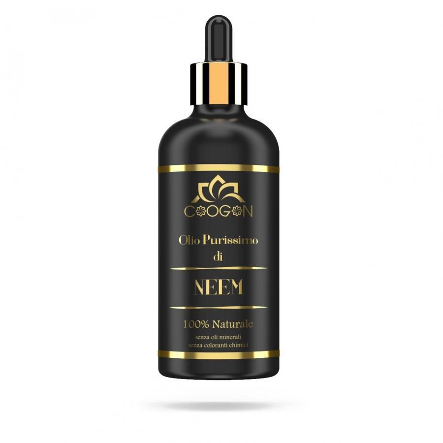 Olio puro di NEEM 100% VEGETALE 100 ml