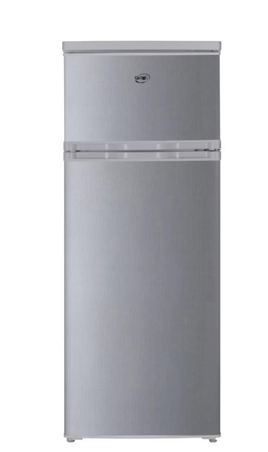 DAYA frigorifero doppia porta 230lt A+ SILVER DDP-29H4S