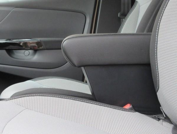 Bracciolo regolabile con portaoggetti per Renault Clio (2005-2012)