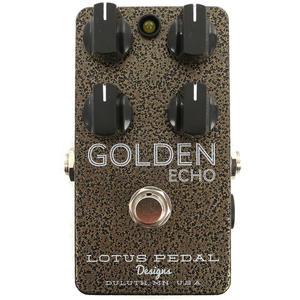 Golden Echo - Lotus Pedal Designs