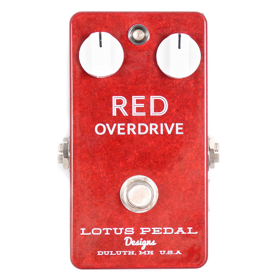 Red Overdrive - Lotus Pedal Designs