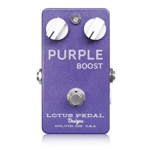 Purple Boost - Lotus Pedal Designs