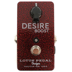 Desire Boost - Lotus Pedal Designs