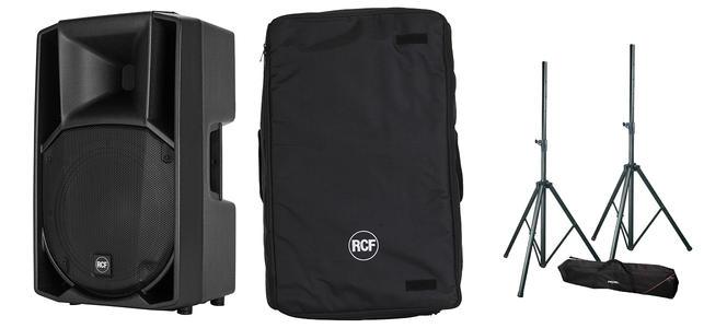 Coppia RCF ART 712-A MK4 + Cover e Stativi