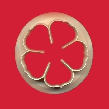 cutter rosa a 5 petali 50 mm FMM