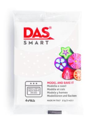 DAS Smart  Glitter Bianco panetto 57 gr