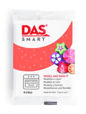 DAS Smart  Glitter Rosso panetto 57 gr