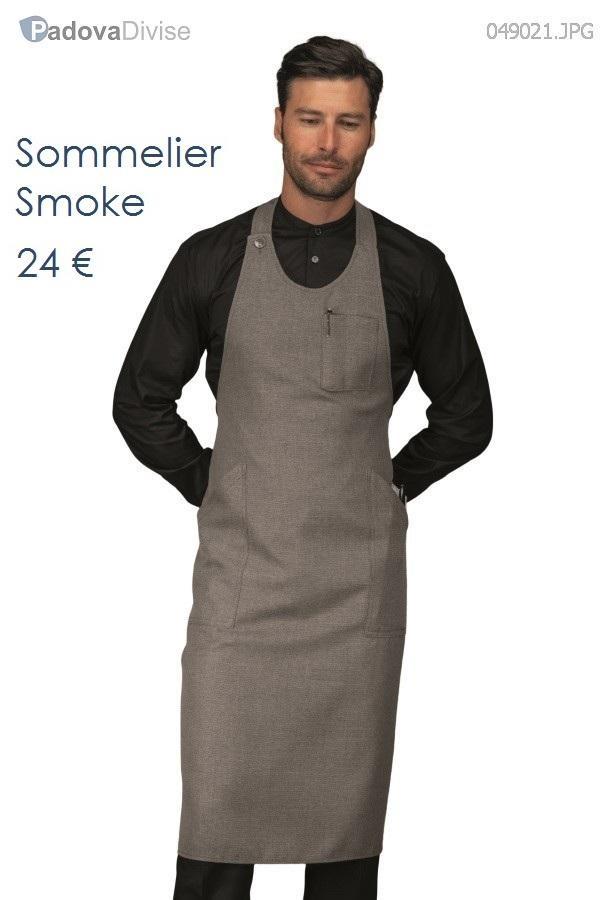 SOMMELIER SMOKE 100% POLYESTER