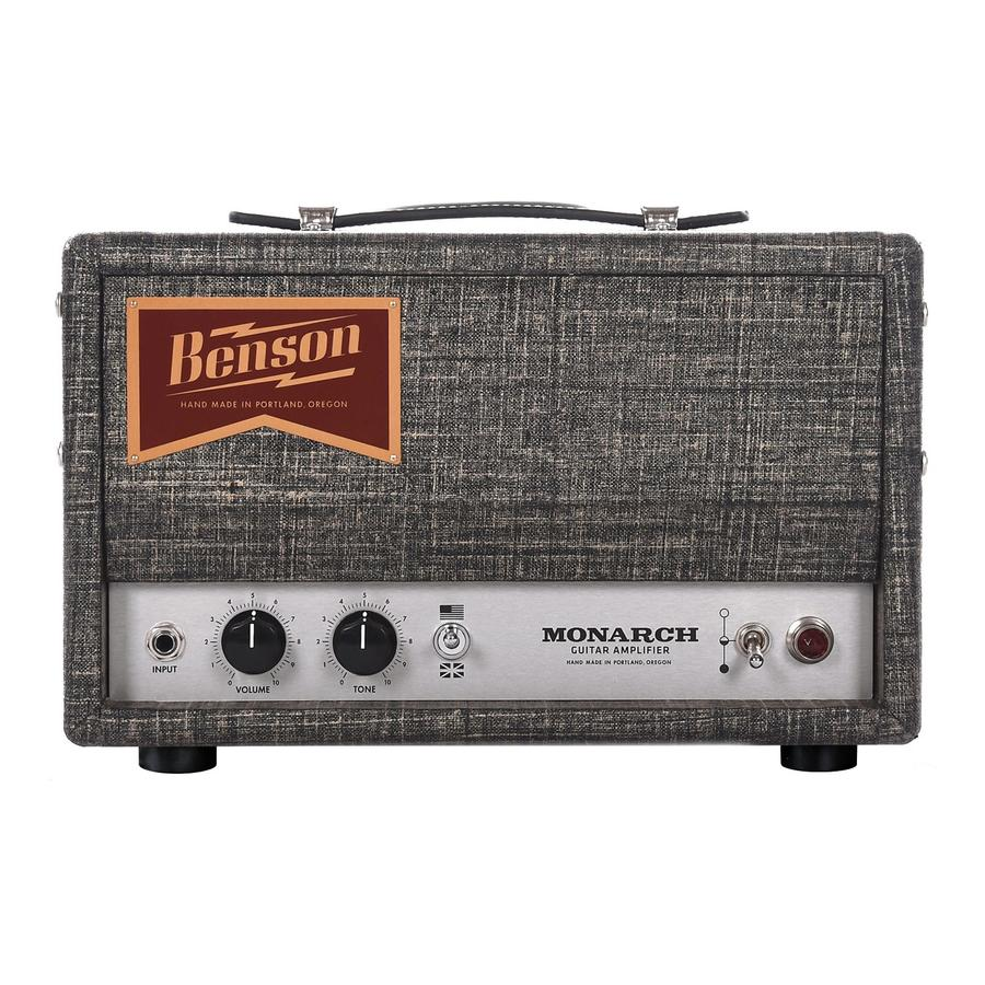Monarch Guitar Amplifier - Benson Amps