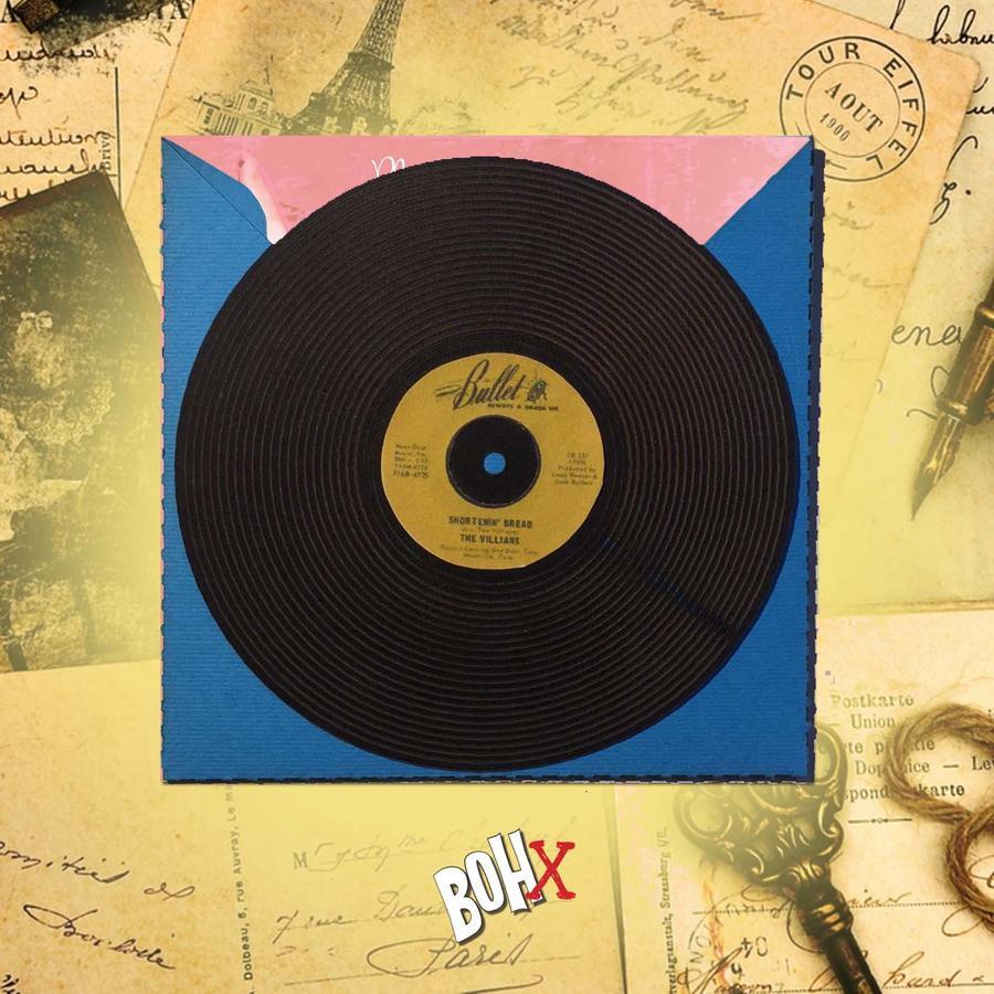 "Portacd ""45 giri"" con Vintage Playlist"
