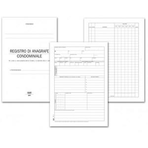 REGISTRO Anagrafe e sicurezza condominiale - BUFFETTI 306701200