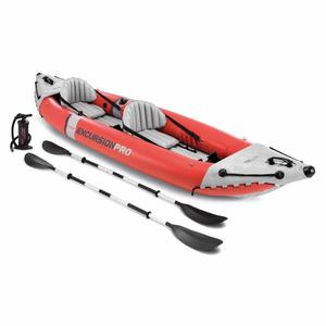 Kayak Canoa 2 posti INTEX 68309 Excursion Pro Gonfiabile 384X94X46 cm PROFESSIONALE RESISTENTE
