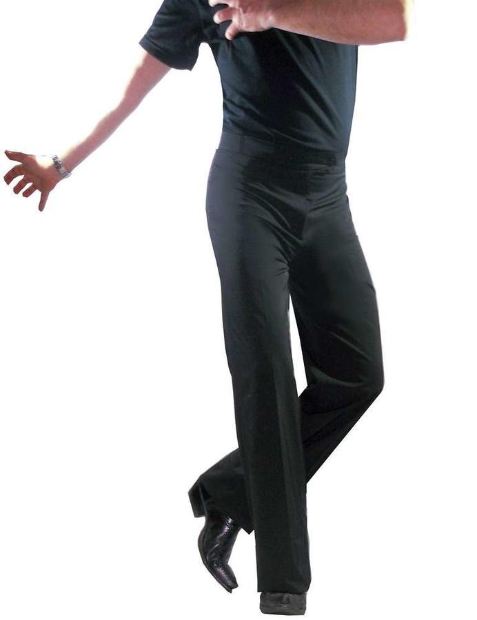 MEN BASIC PANTS FOR SOCIAL DANCE STANDARD TROUSERS 7-0005