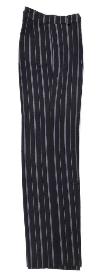 DANCE TROUSERS IN LIGHTWEIGHT FABRIC GESSATO ON BLACK BACKGROUND 7-0009