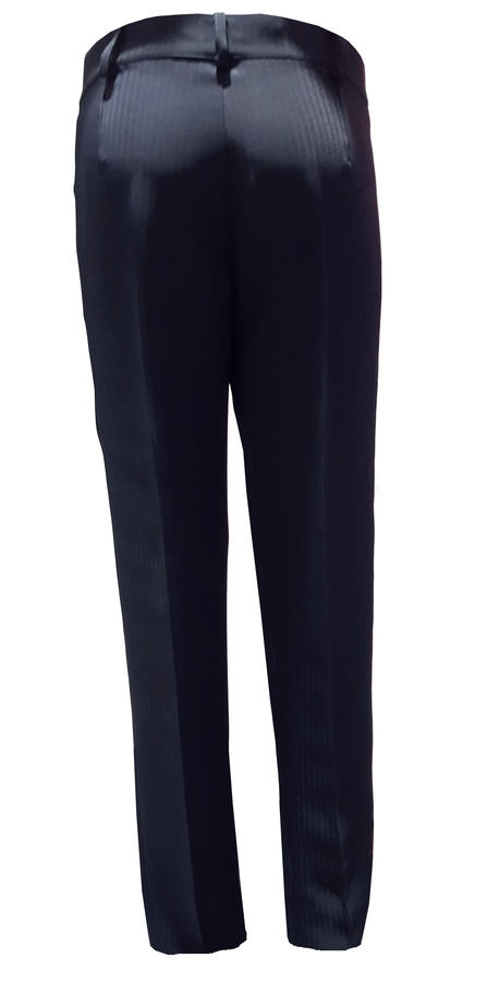 DANCE PANTS FOR MEN DARK BLUE CLOSED AT THE BOTTOM WITH THROUGH 7-0006