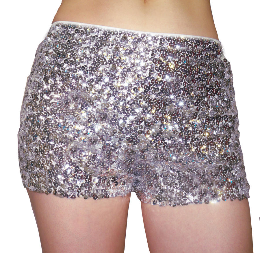 SHORT CON PAILLETTES 1-0005
