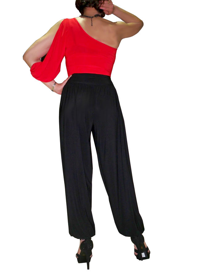 PANTS ON THE DANCE HIGH WAIST IN 3 VERSIONS BABUSCA 1-0011