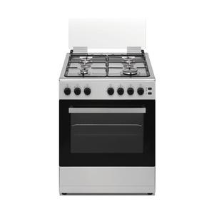 DAYA cucina a gas 4 fuochi forno elettrico INOX DSGC-6060XEG