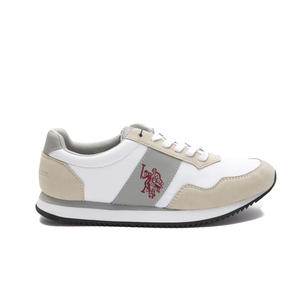 U. S. POLO ASSN SNEAKERS UOMO WHITE