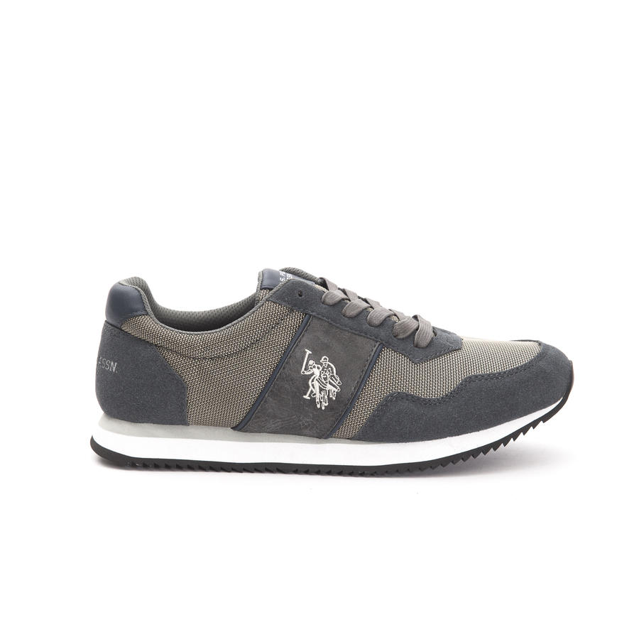 80ac0b9fbb844 U. S. POLO ASSN SNEAKERS UOMO GREY