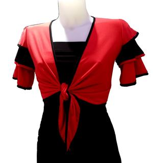 Shrug Bolero dance with sleeves 6-0014